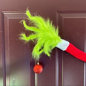 Neon green grinch classic hand Christmas decor